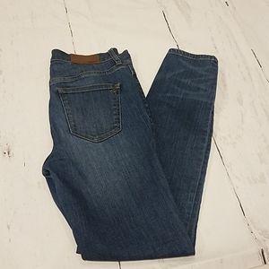 Madewell high riser skinny jeans Sz 27